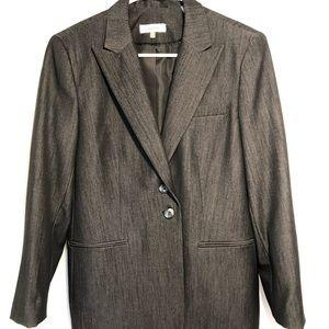 Calvin Klein grey work suit jacket
